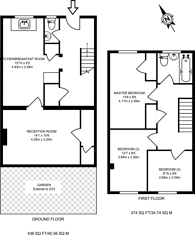 Large floorplan for Redwing Avenue, Guildford, GU7