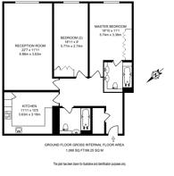 Large floorplan for Wrights Lane, Kensington, W8