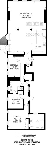 Large floorplan for Soho Square W1, Soho, W1D
