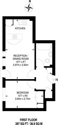 Large floorplan for Sovereign Place, Harrow, HA1