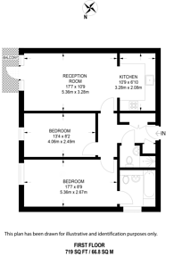 Large floorplan for Glebelands Close, Finchley, N12