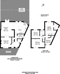 Large floorplan for Mead Close, Harrow Weald, HA3