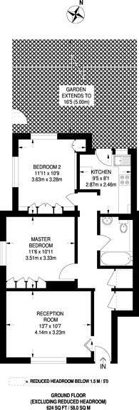 Large floorplan for Wingfield Way, Ruislip, HA4