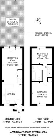 Large floorplan for Waterside Close, Bermondsey, SE16
