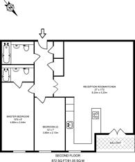 Large floorplan for Southville, Vauxhall, SW8