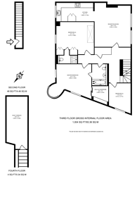 Large floorplan for Crawford Place, Marylebone, W1H