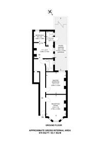 Large floorplan for Eynham Road, Shepherd's Bush, W12