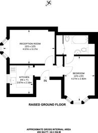 Large floorplan for Hertford Street, Mayfair, W1J
