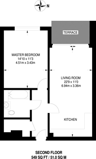 Large floorplan for High Street, Sutton, SM1