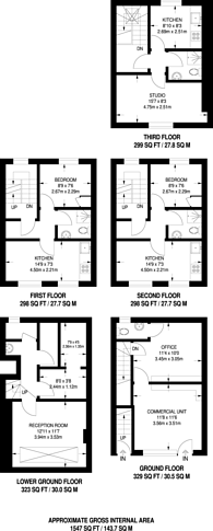 Large floorplan for Praed Street, Paddington, W2