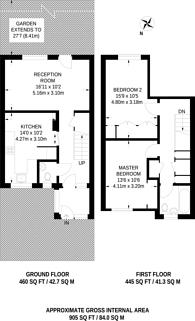 Large floorplan for Pedro Street, Lower Clapton, E5