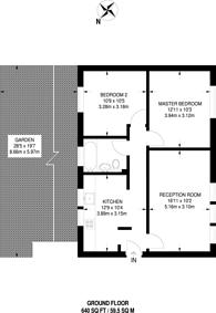 Large floorplan for Kerrison Road, Stratford, E15