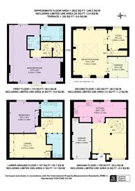 Large floorplan for Clabon Mews, Knightsbridge, SW1X