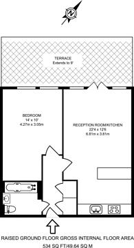 Large floorplan for Friern Barnet Road, Friern Barnet, N11