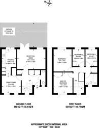 Large floorplan for Havil Street, Camberwell, SE5