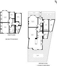 Large floorplan for Amery Gardens, Kensal Rise, NW10
