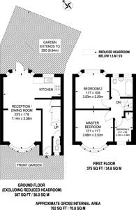 Large floorplan for Adderley Road, Harrow Weald, HA3