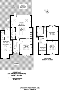 Large floorplan for Catlins Lane, Pinner, HA5