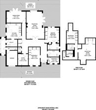 Large floorplan for Bush Hill, Enfield, N21