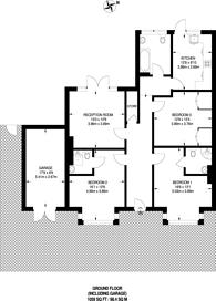 Large floorplan for St Stephens Road, Hounslow, TW3