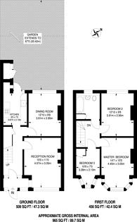 Large floorplan for Davidson Road, Croydon, CR0