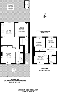 Large floorplan for Shroffold Road, Bromley, BR1