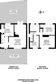 Large floorplan for St Gothard Road, West Norwood, SE27
