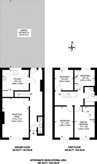 Large floorplan for St Matthews Road, Brixton, SW2
