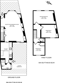 Large floorplan for Torrens Road, Stratford, E15