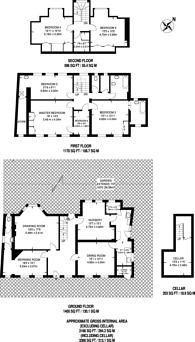 Large floorplan for Church Street, Ewell, KT17