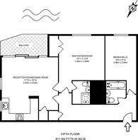 Large floorplan for Inverness Mews, Gallions Reach, E16