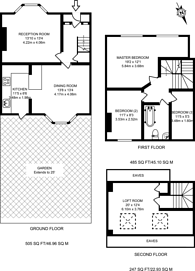 Large floorplan for Reginald Road, Forest Gate, E7