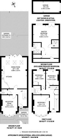 Large floorplan for Lime Grove, New Malden, KT3