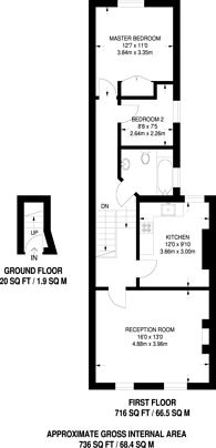 Large floorplan for Arundel Road, Croydon, CR0