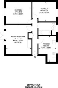 Large floorplan for Claremont Close, Royal Docks, E16