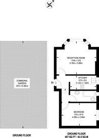 Large floorplan for Stanthorpe Road, Streatham, SW16