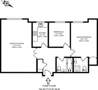 Large floorplan for The Broadway, Wimbledon, SW19