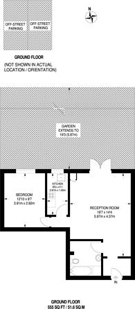 Large floorplan for The Woodlands, Isleworth, TW7
