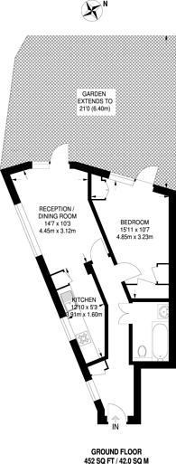 Large floorplan for The Mall, Kenton, HA3