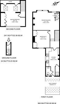 Large floorplan for Ingelow Road, Diamond Conservation Area, SW8