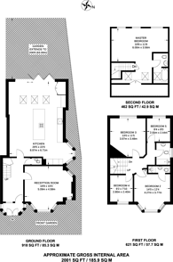 Large floorplan for Pollards Hill East, Norbury, SW16