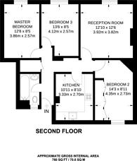 Large floorplan for Stamford Hill, Stamford Hill, N16