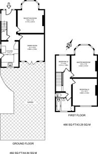 Large floorplan for Manor Park Road, West Wickham, BR4