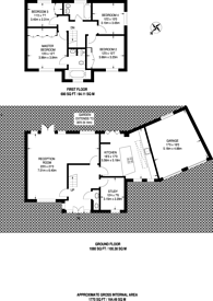 Large floorplan for Sheen Lane, East Sheen, SW14