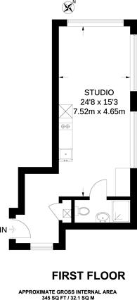Large floorplan for Britannic House, New Malden, KT3