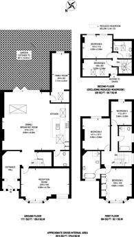 Large floorplan for Blackstone Road, Gladstone Park, NW2