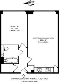 Large floorplan for Great West Quarter, Brentford, TW8