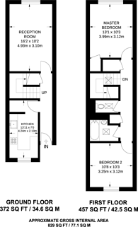 Large floorplan for Holmleigh Road Estate, Stamford Hill, N16