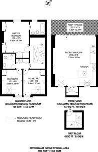 Large floorplan for Addison Gardens, Brook Green, W14
