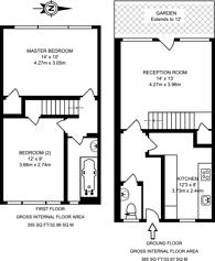 Large floorplan for St John's Estate, Shoreditch, N1